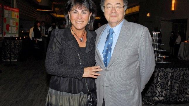 Барри Шерман и его супруга Хани в августе 2010 г.