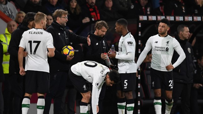 Bournemouth vs Liverpool 0:4.