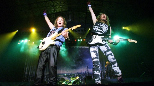 Iron Maiden esines Tallinnas lauluväljakul 2000. aastal, kui nende kontserti külastas 6000 fänni.