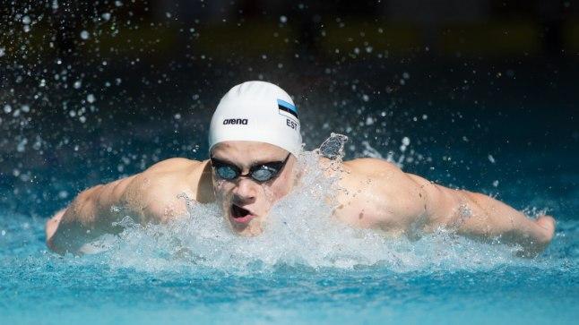 Daniel Zaitsev läbis kaks basseinipikkust ajaga 22,88.
