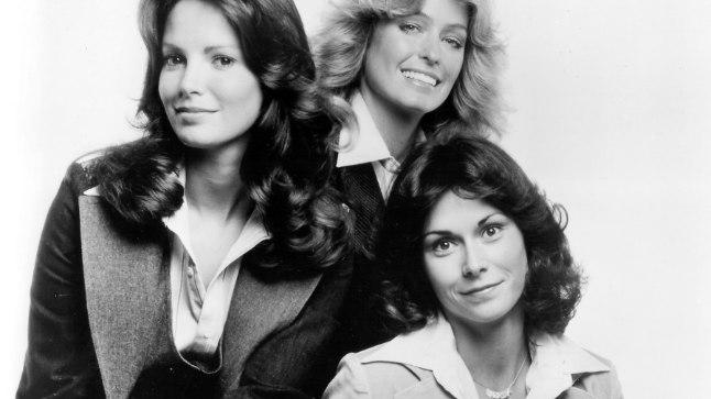 """""""Charlie inglite"""" tähed Jaclyn Smith (vasakul), Farrah Fawcett ja Kate Jackson."""