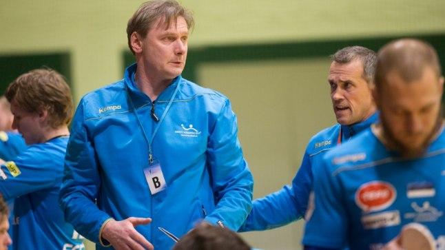 Eesti koondise peatreener Rein Suvi.