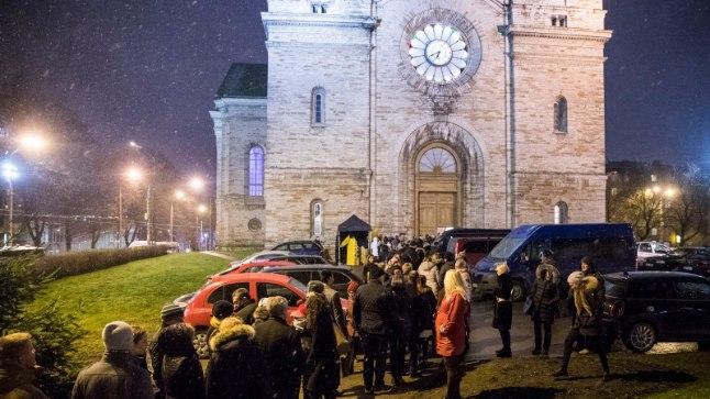 Ott Leplandi ja Inese jõulukontsert Tallinna Kaarli kirikus 4. detsembril 2017.