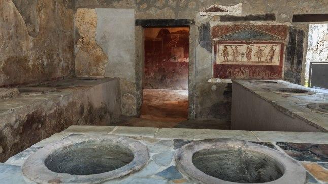 Kiirtoidukoht Pompeis. Nagu üks söökla ikka?