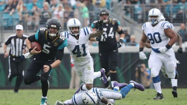 Indianapolis Colts vsJacksonville Jaguars.