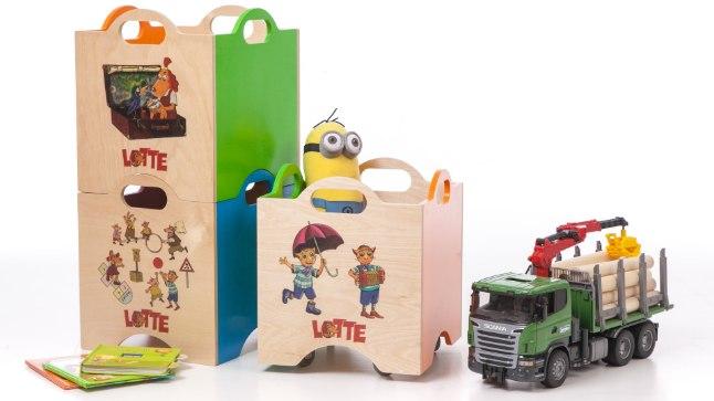 Lotte temaatikaga mänguasjakast sobib nii mängutuppa kui ka lasteaeda!