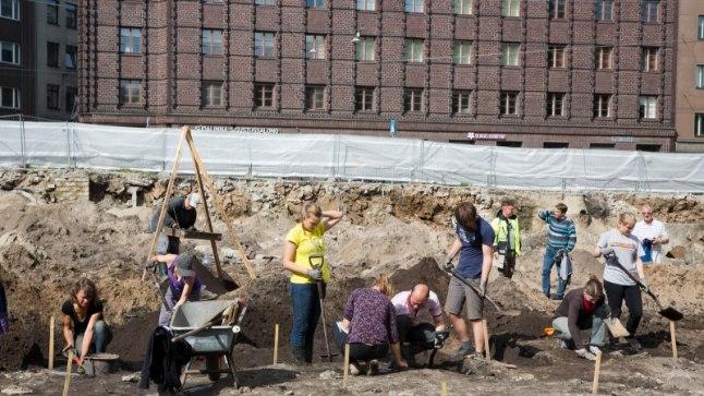 Pärnu mnt 31 väljakaevamised