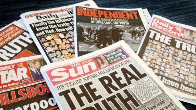 Hillsborough tragöödia järelkaja tõttu on The Sun Liverpoolis põlu all.