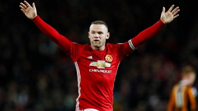 Manchester Unitedi ründaja Wayne Rooney.