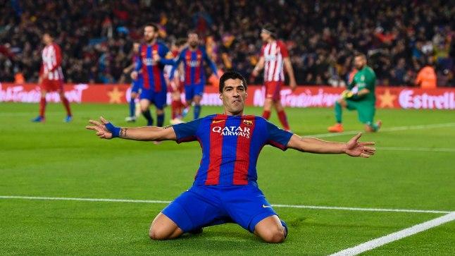 FC Barcelona ründaja Luiz Suarez on veebruaris platsil käinud kolmes mängus, kus löönud neli väravat. Täna asub ta kimbutama PSG kaitseliini.