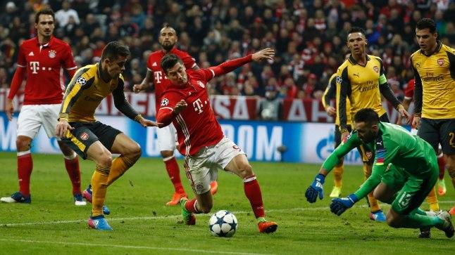 Müncheni Bayern - Londoni Arsenal 5:1