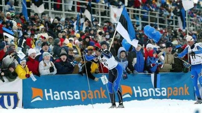 Jaak Mae 2003. aastal võistlemas Otepää MK-etapil