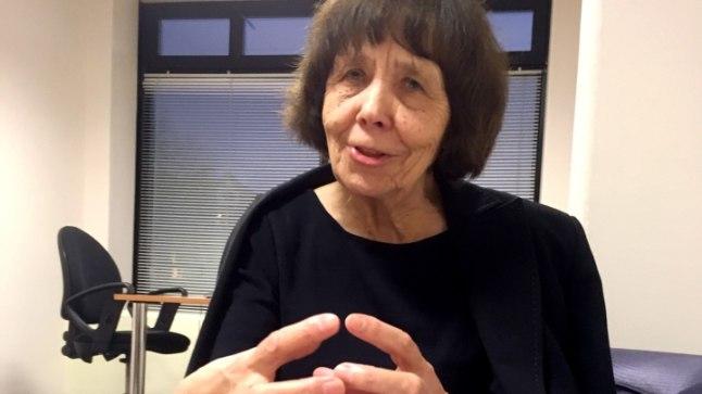 RÕÕMUS: Viive-Riina Ruus rõõmustab, et  Eesti haridus liigub õiget rada.