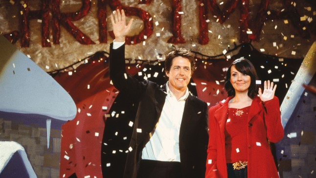 "Hugh Grant ja Martine McCutcheon filmis ""Armastus on see"""