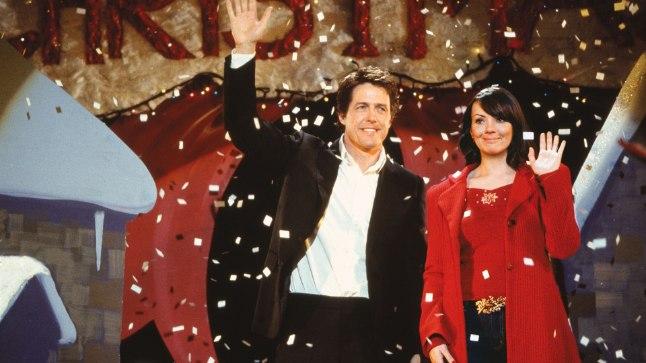"""Hugh Grant ja Martine McCutcheon filmis """"Armastus on see"""""""