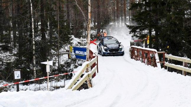 Ott Tänak ja Martin Järveoja tegid Rootsi rallil vinge etteaste.