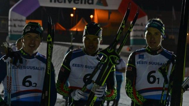 Andrus Veerpalu startis õhtupimeduses Otepää MK-etapi hooldemeestevõistlusel