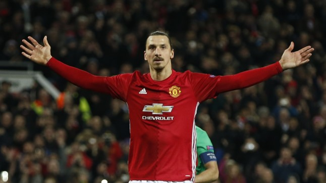 Manchesteri punase leeri kuningas: Zlatan Ibrahimovic.