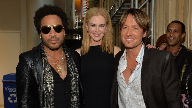 Nicole, Lenny ja Keith 2013. aastal.