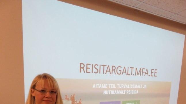HÄTTA EI JÄETA KEDAGI: Välisministeeriumi konsulaarabi osakonna peadirektor Kersti Aasmaa