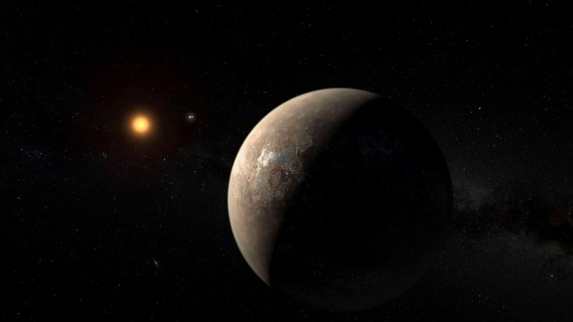 Planeet Proxima b tiirleb ümber Proxima Centauri