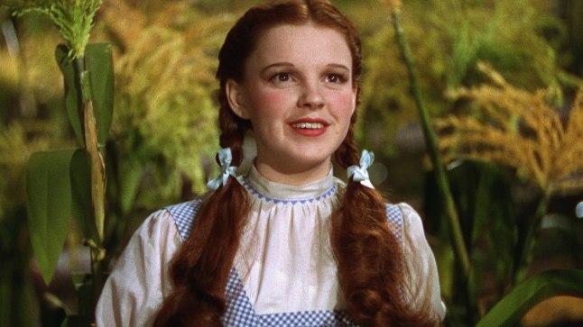 "Judy Garland oma tuntuimas filmis ""The Wizard of Oz"" (1939)"