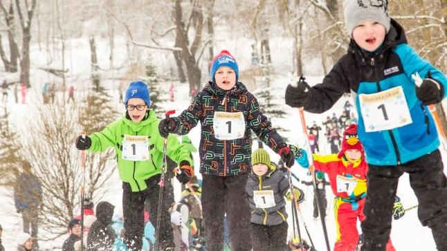 Mullused Tartu maratoni lastesõidud Kaimo Puniste