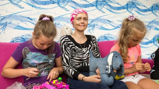 Rinnavähki põdev Svetlana Ringas oli üks neist, kellele vähiravifond Kingitud elu kinkis võimaluse oma lastega kauem aega veeta.