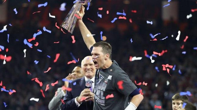 Läbi aegade vägevaim Ameerika jalgpallur - Tom Brady.