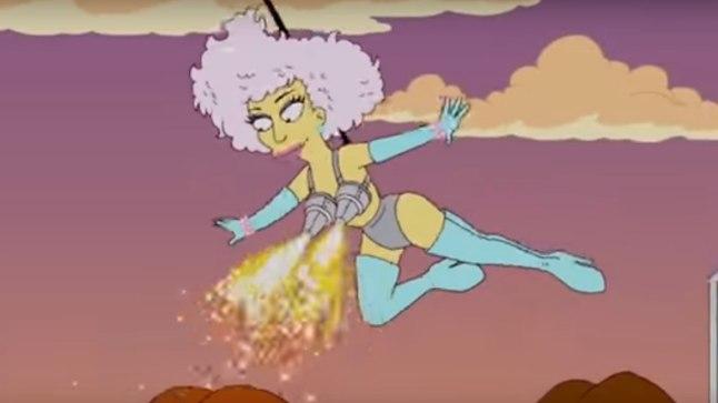 "Lady Gaga ""Simpsonites"""