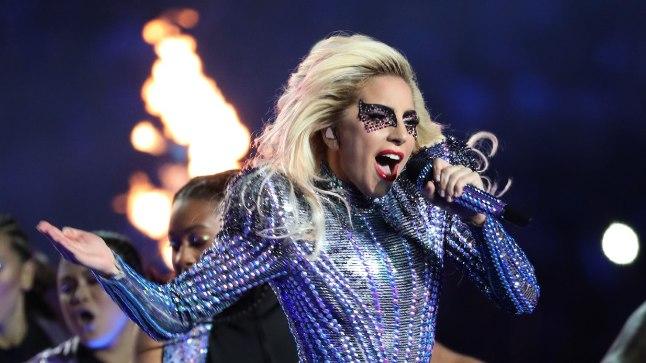 Lady Gaga andis hiljuti vägeva sõu Super Bowlil.