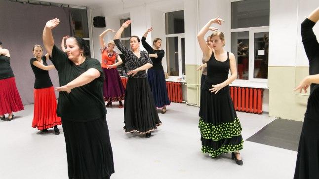 Mõistagi saab tantsufestivali tantsida ka flamencot.