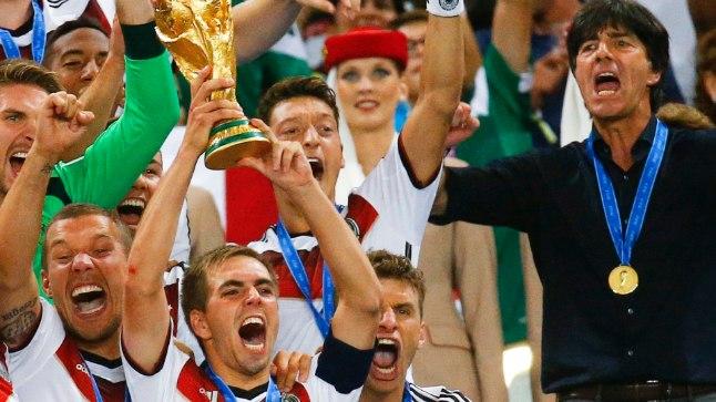 Euroopa koondised on võitnud kolm jalgpalli MMi järjest - 2006 kuulus tiitel Itaaliale, 2010 Hispaaniale ja viimati 2014 Saksamaale.
