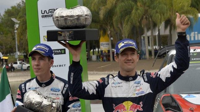 Sebastien Ogier (paremal) ja Julien Ingrassia.