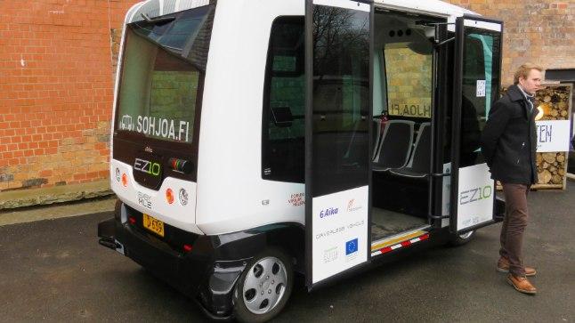 Ümbrust lidarikiirtega kompivad isejuhtivad bussid peaksid juba sel suvel olema Mere puiesteel igapäevane vaatepilt.