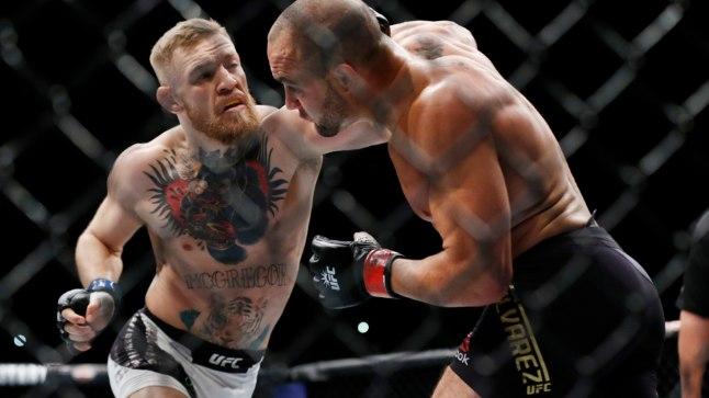 Conor McGregor (vasakul).