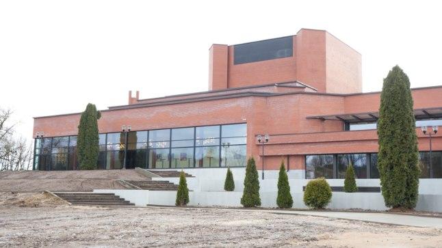 Teater Ugala tund enne renoveeritud maja avamist 18. märtsil 2017.