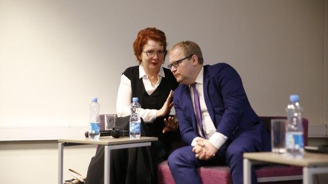 Urmas Paet ja Yana Toom