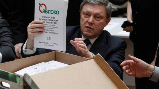 Jabloko asutaja Grigori Javlinski kandideerib 2018. aastal Venemaa presidendiks