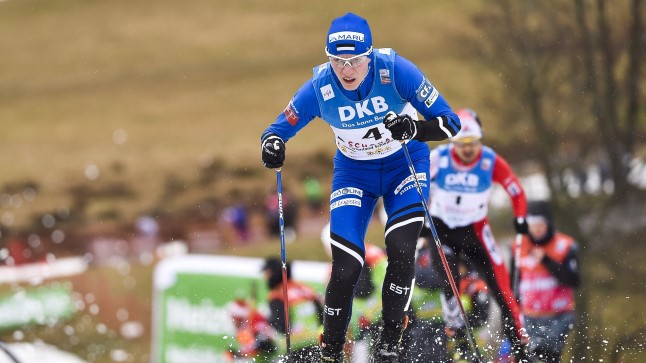 """ELU VÕISTLUS: Kristjan Ilves hüppas laupäeval endale rinnanumbriks """"4"""" ning sai kokkuvõttes karjääri parimat tähistanud 14. koha."""
