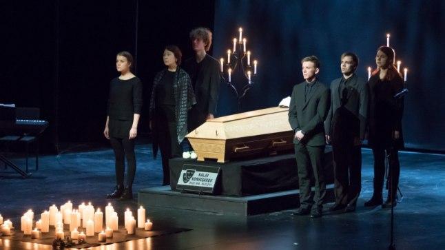 Hüvastijätt Kalju Komissaroviga Ugala teatris