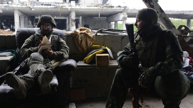 Ida-Ukraina venemeelsed separatistid.