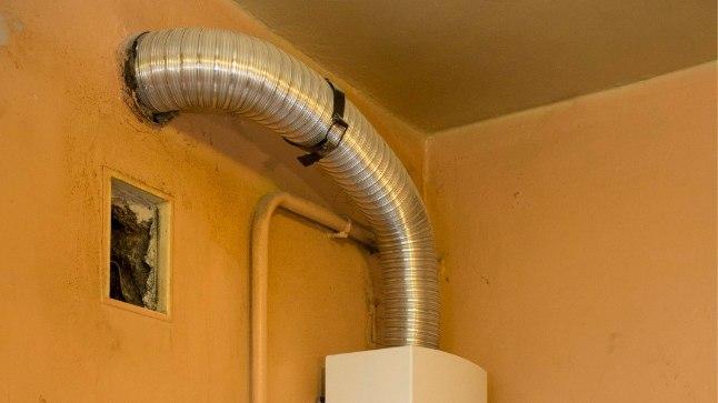 Gaasiboiler kodus vajab hooldust.