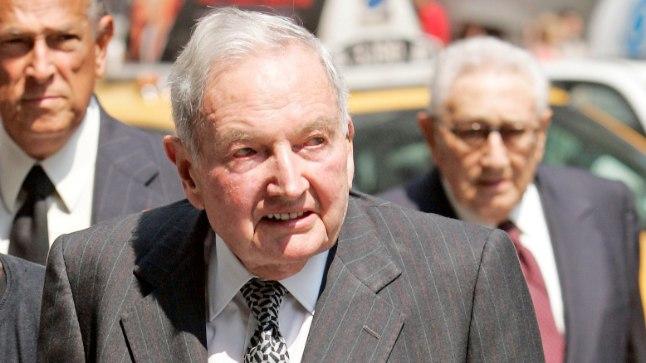David Rockefeller aastal 2007.