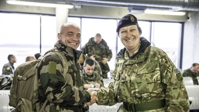 20. märtsil saabusid Eestisse esimesed 50 NATO lahingugruppi kuuluvat Prantsuse kaitseväelast.