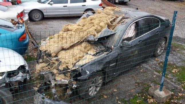 21 ноября 2016 года в 23:10 Центр тревоги получил сообщение о том, что в городе Вильянди на улице Кёстри произошло ДТП.