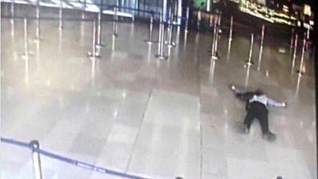 Kaader lennujaama turvakaamerast