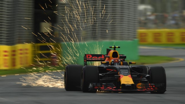 Max Verstappen Austraalia GP kvalifikatsioonis