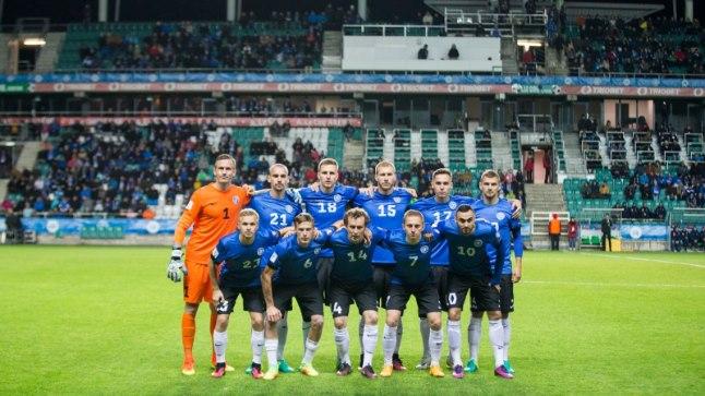 Eesti meeste jalgpallikoondis on käimasolevas MM-valiksarjas teeninud viie mänguga tabelisse neli punkti. Väravate vahe on 5:15.