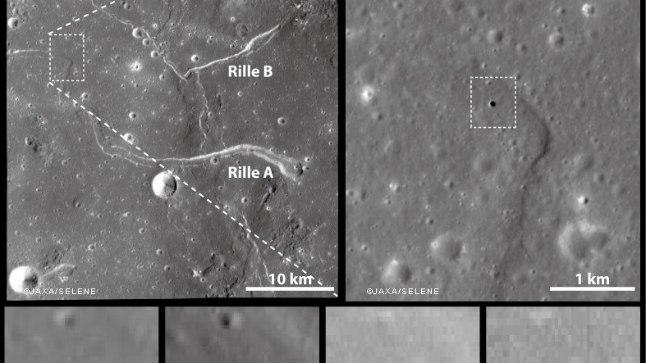Картинки по запросу 1. На Луне нашли вход в подземный тоннель